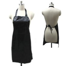 Black Professional Waterproof Treatment Apron Hair Cutting Bib Barber Home Styling Salon Hairdresser Waist Cloth  H7JP