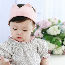 1pc Kids Knitted Wool Headbands Infants Crown Crochet Hair bands Girl Hair Accessories Cute Photography Prop Gift MZ003
