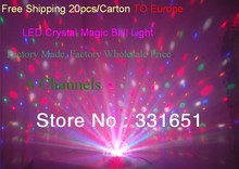 24pcs/Lot stage special effects led dj ball light 6x3w rgbwa led stage moving light