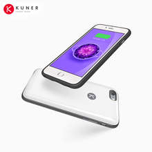 Orignial KUNER Case Ultra Slim Extended Battery Backup Case & 64G Memory for iPhone 6/6s Plus(5.5 inch) with 2400mAh Capacity