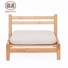 ZEN'S BAMBOO Chair With Cushion Japanese Tatami chair Assemble Outdoor Garden Chair Bedroom Living Room Home Furniture(China)