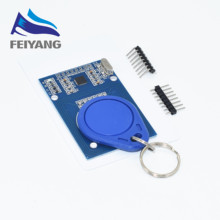 1 set SAMIORE ROBOT RFID module RC522 Kits 13.56 Mhz 6cm With Tags SPI Write & Read(China)
