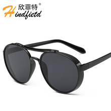 2017 Hindfield Original Famous Luxury Brand Designer Sunglasses Men Male Sun Glasses For Man Eyewear Sunglass Oculos Lunette