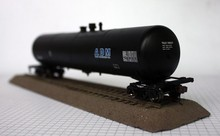 1/87 Model Train ho scale Train thirty thousand gallons of oil tanker DIY Free Shipping