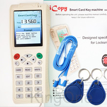 Buy Newest iCopy 3 Full Decode Function Smart Card Key Machine RFID NFC Copier IC/ID Reader/Writer Duplicator +5pcs 5577 Tags for $185.50 in AliExpress store