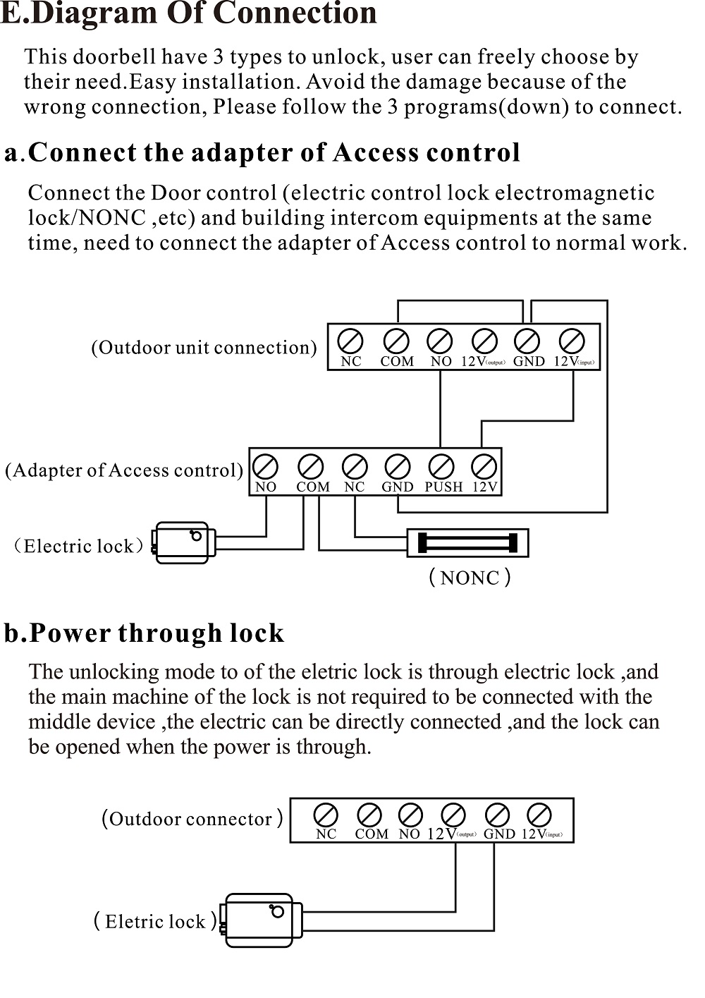 Wifi Doorbell english manual-