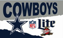 Dallas Cowboys Lite Flag 3ft x 5ft Baseball Football  Basketball Flag