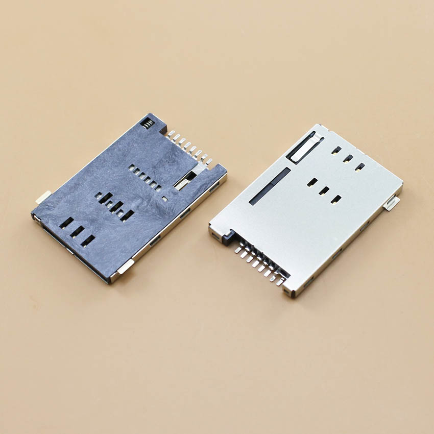 SIM card Self bomb PUSH 8P Tablet PC Mobile phone Card slot GPRS Card holder KA-109(China (Mainland))