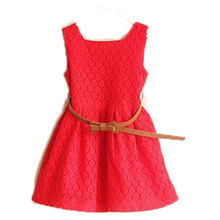 Glass heart dress girls vestidos costume for kids infantil deguisement enfant robe fille princess disfraz vetement elbise summer(China)