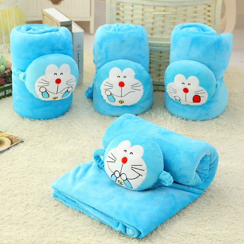 candice guo! cute plush toy funny expressions panda Doraemon doll pillow cartoon rolling blanket creative birthday gift 1pc<br><br>Aliexpress