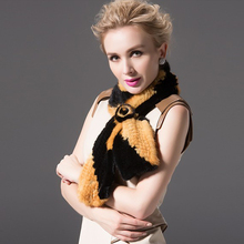 Dl-12717 Korean Version Of The Autumn And Winter , Ms. Rose Imported Mink Fur Scarf Collar White Black Yellow Coffer Gray