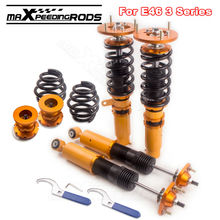 Shock Absorber Struts Coilover Suspensions for BMW E46 3 Series 323i 328i 330i M3 318i 320i Adj Height fit Sedan Coupe(China)