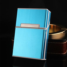 brand new Cigarette Case Box Aluminum Alloy Magnetic Case Cigarette Protection Cover Smoking Storage Box Bin
