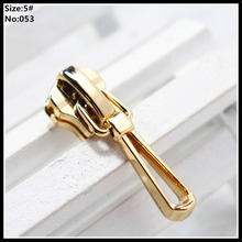 5# Wholesale 10pcs Zipper Sliders Metal Zipper Pulls zipper Head For Handbag/ Backpack/Clothing/Sewing Tailor Tools 053