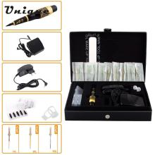Strong Power Tattoo Machine Kit Professional Eyebrow Tattooing Pen Permanent Makeup Tattoo Eyebrow Pen #CH-103T EU Plug(China)