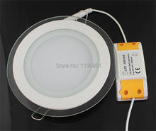 2014 NEW Hot Ultra Thin Design 6W 12W 18W LED Recessed Ceiling Light Lamp Led Round Panel Light Free Shipping