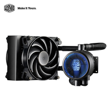Cooler Master Sandwich style 120 CPU Liquid Cooler Double 120mm quiet fans CPU Water cooling fan Cooelr  radiator