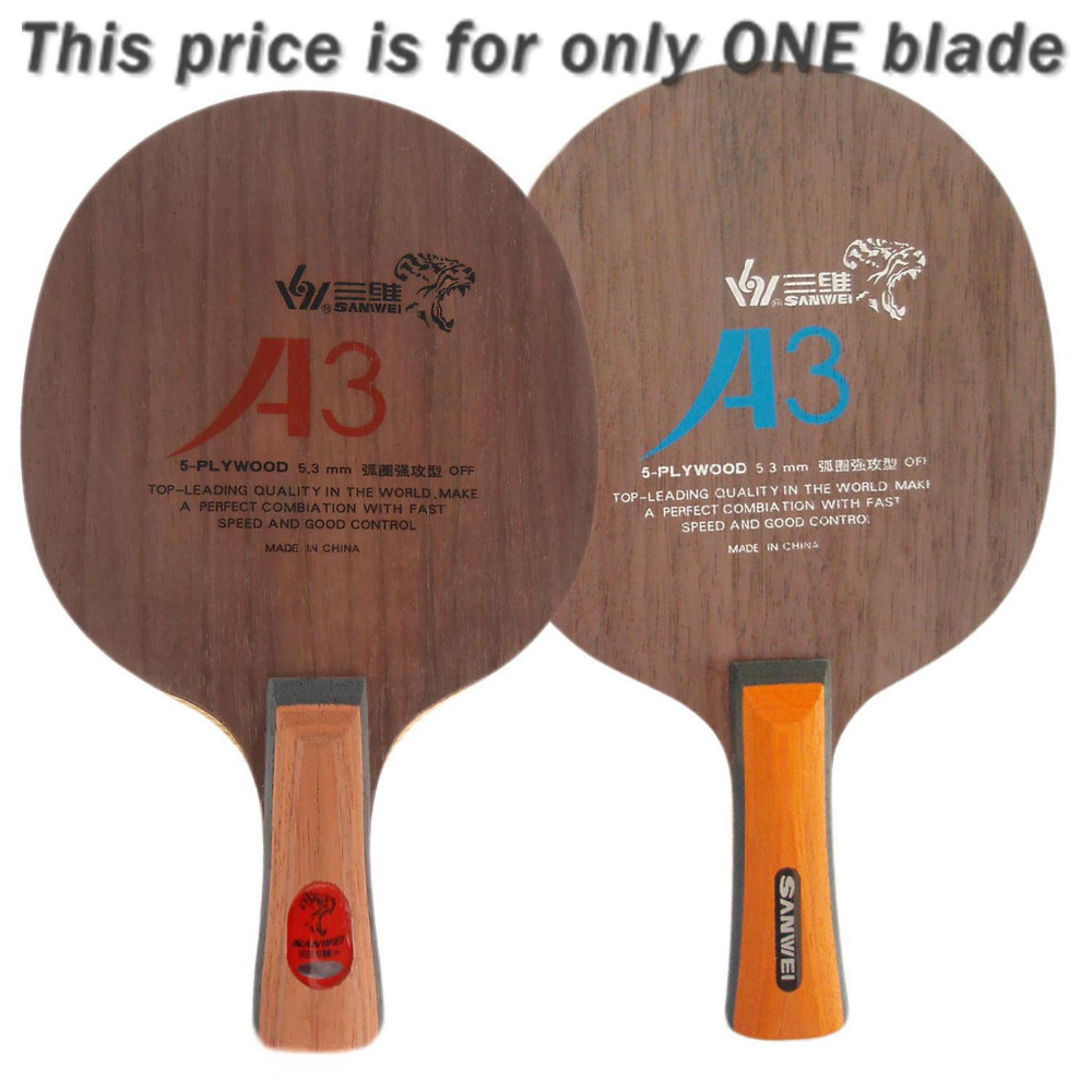 Sanwei A3 Red Spider A 3 A-3 Table Tennis PingPong Blade<br>