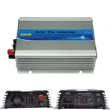 600W pure sine wave mppt micro grid tie inverter,22-60V DCto 230V AC for solar pv panels