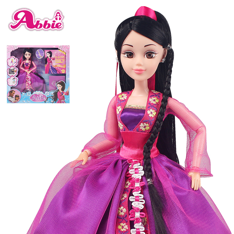 Abbie Princess Dolls Hua Mulan Doll New Arrived Fashion Fun And Educational Toys Girls Gift Best Friend Play with Children DIY<br><br>Aliexpress