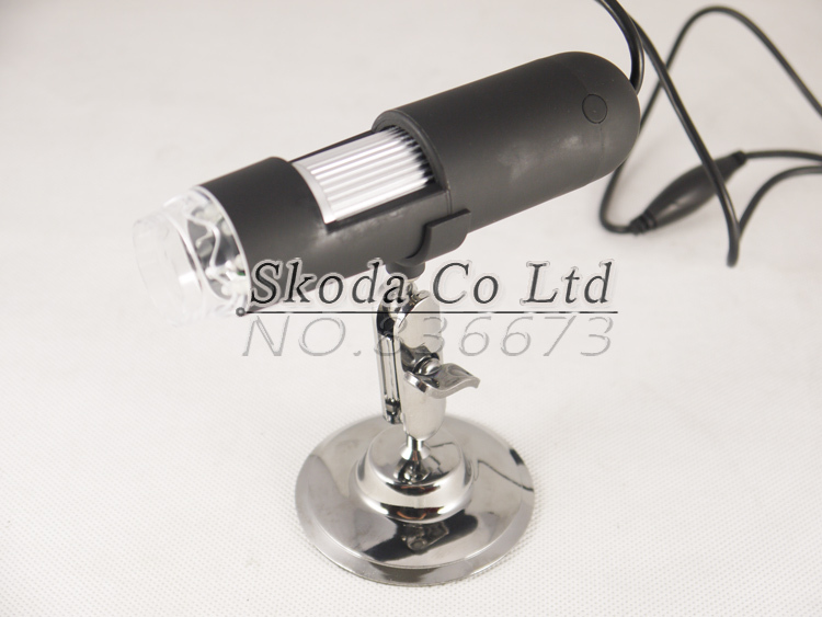 Free shipping Newest 2MP 50X/800x with 8 LED Digital Microscope,U803  Endoscope Magnifier Camera<br>