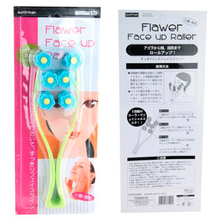 2015 New Personal Care 3 Section Lifting Flower Wheel Face Massager Beauty Face Care For Ladies Relax & Face Slimmer 10PCS/Lot(China)