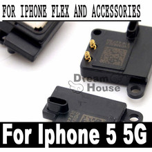 5pcs/lot 100% New Repairing Parts Built-in Earpiece Speaker For iPhone 5 5G Ear Speaker Replacement Receiver Earphone(China)