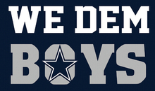 WE DEM BOYS Dallas Cowboys Flag Blue Star 100D Polyester Flag Cowboys Glove 3ft X 5ft World Series 2016 Banner State Flag(China)