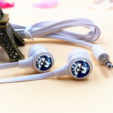 Anime BLACK ROCK SHOOTER Mato Kuroi In-ear Earphones 3.5mm Stereo Earbuds Phone Music Game Headset for Iphone Samsung MP3 Player
