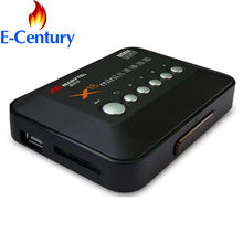 MANYTEL Full Hd 1080P Media Player RMVB RM H.264 MKV AVI VOB HDMI Output Hdd Player