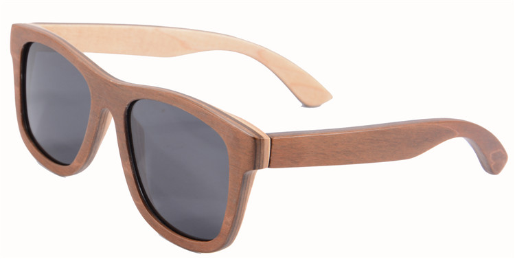 Handmade Skateboard Wood Sunglasses Women Men Oculos De Sol Polarized Sunglasses Retro Vintage Shade Lunette De Soleil 68003<br><br>Aliexpress
