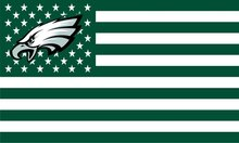 Philadelphia Eagles Stars Stripes USA flag 3ftx5ft Polyester Flag(China)