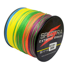 300M 4Strands PE Braided Fishing Line Super Strong Japan Multifilament Fishing Line Carp Fish Braided Wires Rope Cord 10-100LB