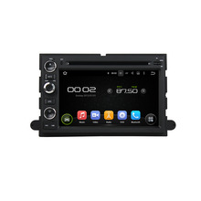 2 Din Pure Android 5.1.1 Car DVD GPS Player Car PC Multimedia Head Unit For Ford Fusion/Explorer/F150/Edge/Expedition 2006-2009(China)