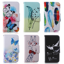 Phone Cover Case for fundas coque Samsung S4 Case SIV i9500 9500 Case for coque Samsung Galaxy S4 Case with Stand Card Holder(China)