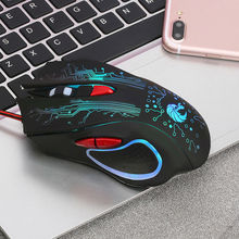 Professional Wired 5500DPI Gaming Mouse USB LED Optical 7 Button Mice Cable Mouse For Gamer X7 USB Mouse Brand New mouse