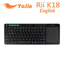 [Genuine] Rii K18 English Version 2.4G Mini Wirless Fly Air mouse Keyboard Touchpad For PC HTPC IPTV Smart Android TV Box