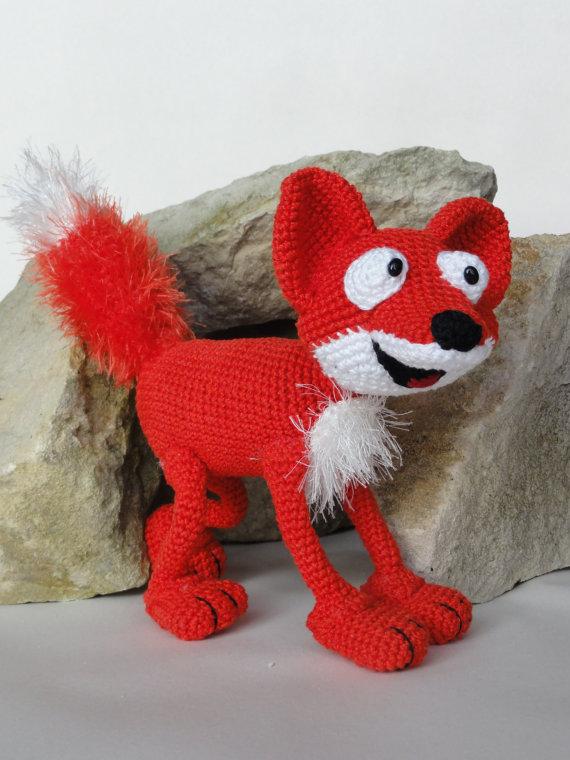Amigurumi Crochet  Max the Fox<br><br>Aliexpress
