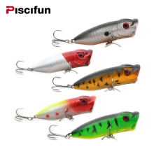 Piscifun 5pcs/lot 65cm Fishing Lure Popper Fishing Bait Bionic Bait Lure Top Quality Fishing Crankbait Hard Bait Wholesales(China)