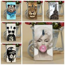 For Nokia 800 Case Cover,Fashion New ARRIVAL Diy Colored Tiger Owl Flowers Hard PC Case Cover For Nokia Lumia 800 n800 Cases(China)