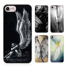 angel wings Clear Cell Phone Case Cover for Apple iPhone 4 4s 5 5s SE 5c 6 6s 7 7s Plus