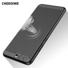 CHOEOIWE Hollow Out Case for Huawei P8 Lite P9 P10 Plus Mate 8 9 Y5 II Honor 8 Pro V9 Luxury Matte Hard Plastic PC Shell Cover