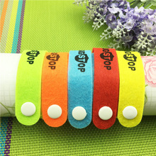 1PC Anti Mosquito Bug Repellent Wrist Band Bracelet Insect Nets Bug Lock  Camping For Baby Adult Protector