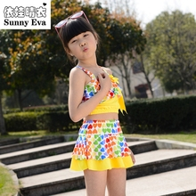 sunny eva swimwear children girls' swimsuit One Piece princess bathing suit dress children's swimwear for girls swimsuits child