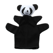 Cute Baby Child Zoo Farm Animal Hand Sock Glove Puppet Finger Sack Plush Toy NewModel:Panda(China)