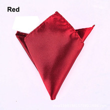 Multiple Colour Men's Solid Color handkerchief  Business Casual Suits Pocket  Small Square Wedding Party Banquet Bow Tie CC7229