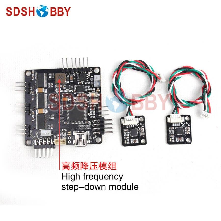 Storm32 BGC 32Bit 3-Axle Brushless Gimbal Controller V1.31 DRV8313 Motor Driver with 2 External Sensors<br>