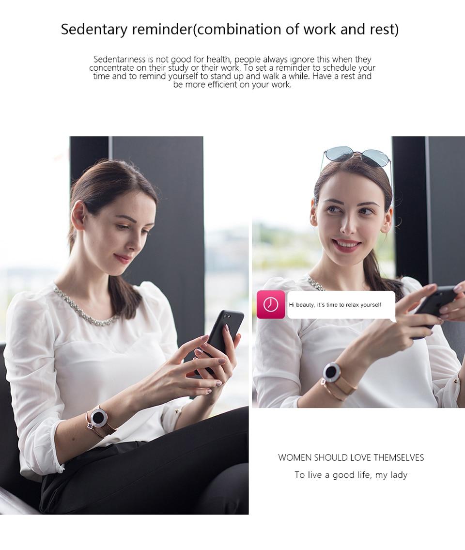 women smart fitness bracelet X6_17