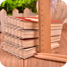 7.5*11cm Korea Style Mini Heart Pattern Coil Notebook Creative Daily Memos Portable New Design Students Children Like PL