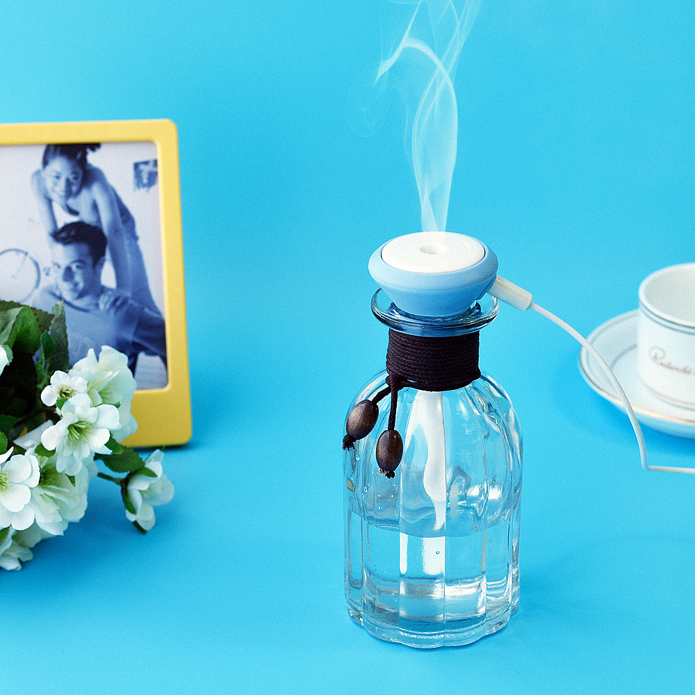 High Quality Usb Glass Air Humidifier Ultrasonic Aroma Diffuser Humidifier for Essential Oil Diffuser Home Mist Maker Fogger<br><br>Aliexpress